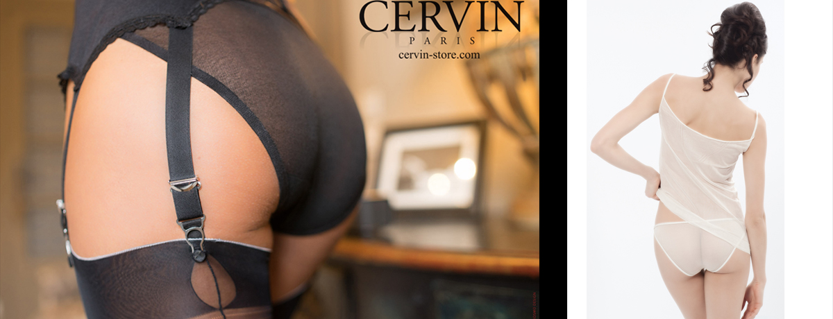 Cervin Paris Fully Fashioned Silk Underwear